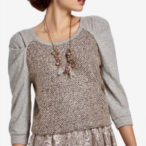Anthropologie Meadow Rue Galaxy Skies Sweater